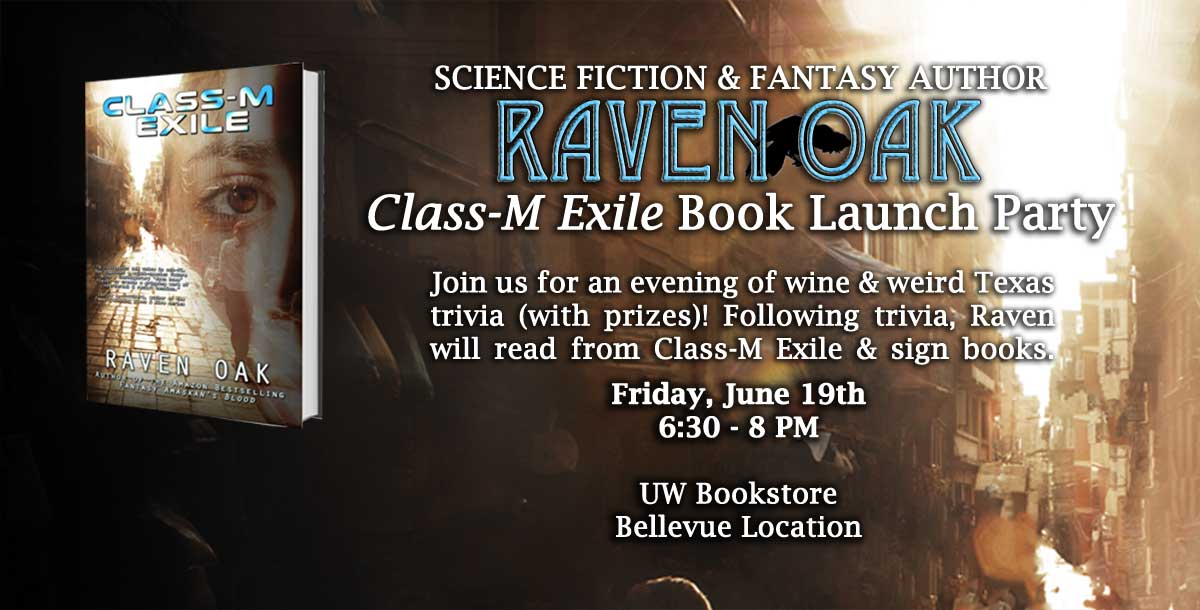 Class-M Exile Book Launch Party