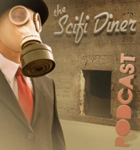 Scifi Diner Podcast Logo