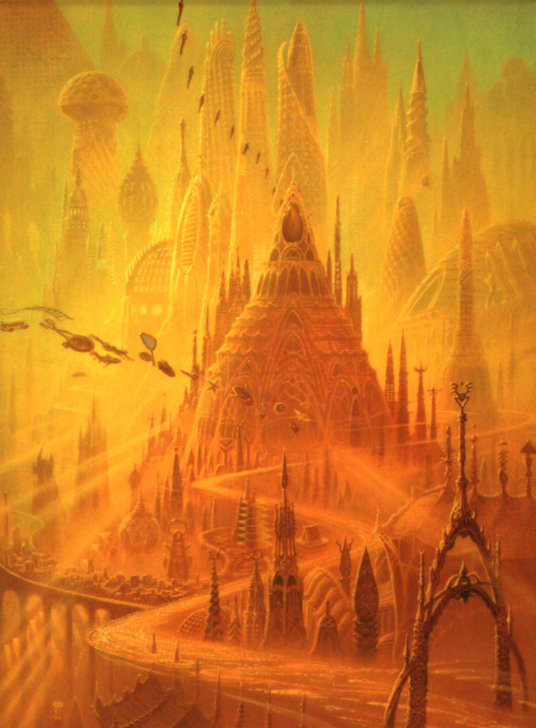 Book Cover Throwback: Otherland #1