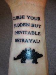 Betrayal tattoo