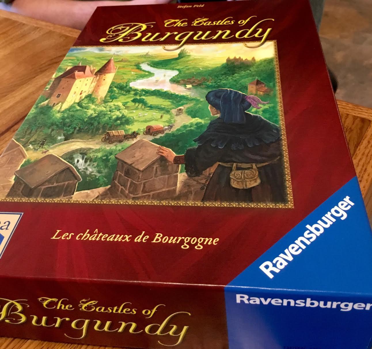 Monday Night Gaming Castles of Burgundy