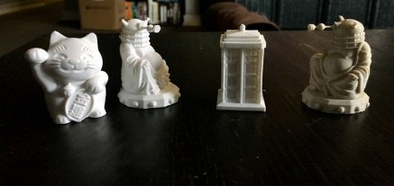 Dalek Buddhas take the TARDIS