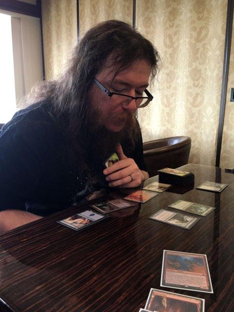 Playing magic