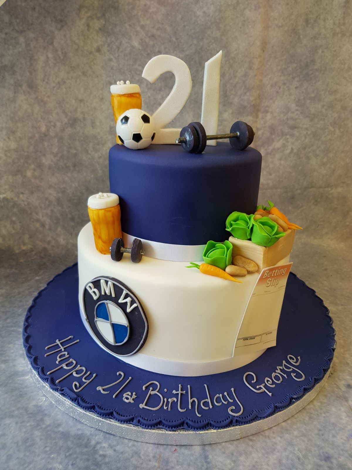 2 Tier 21st Birthday
