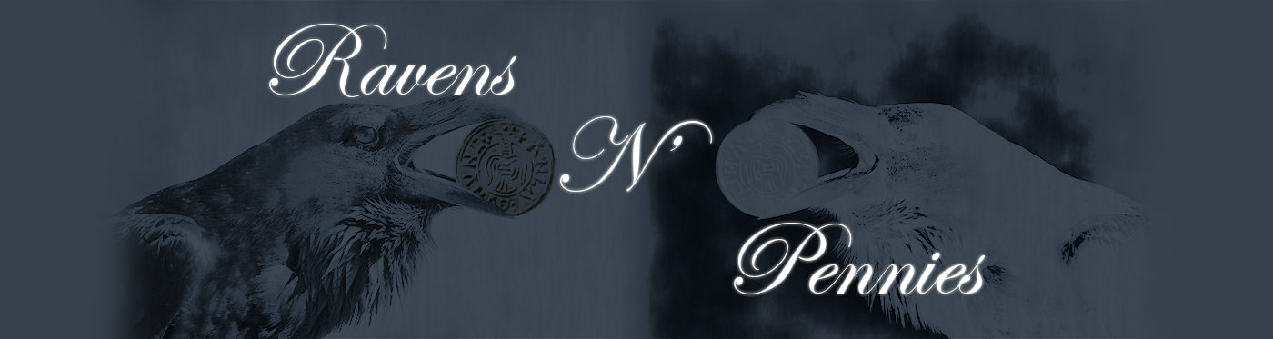 Ravens N' Pennies Logo