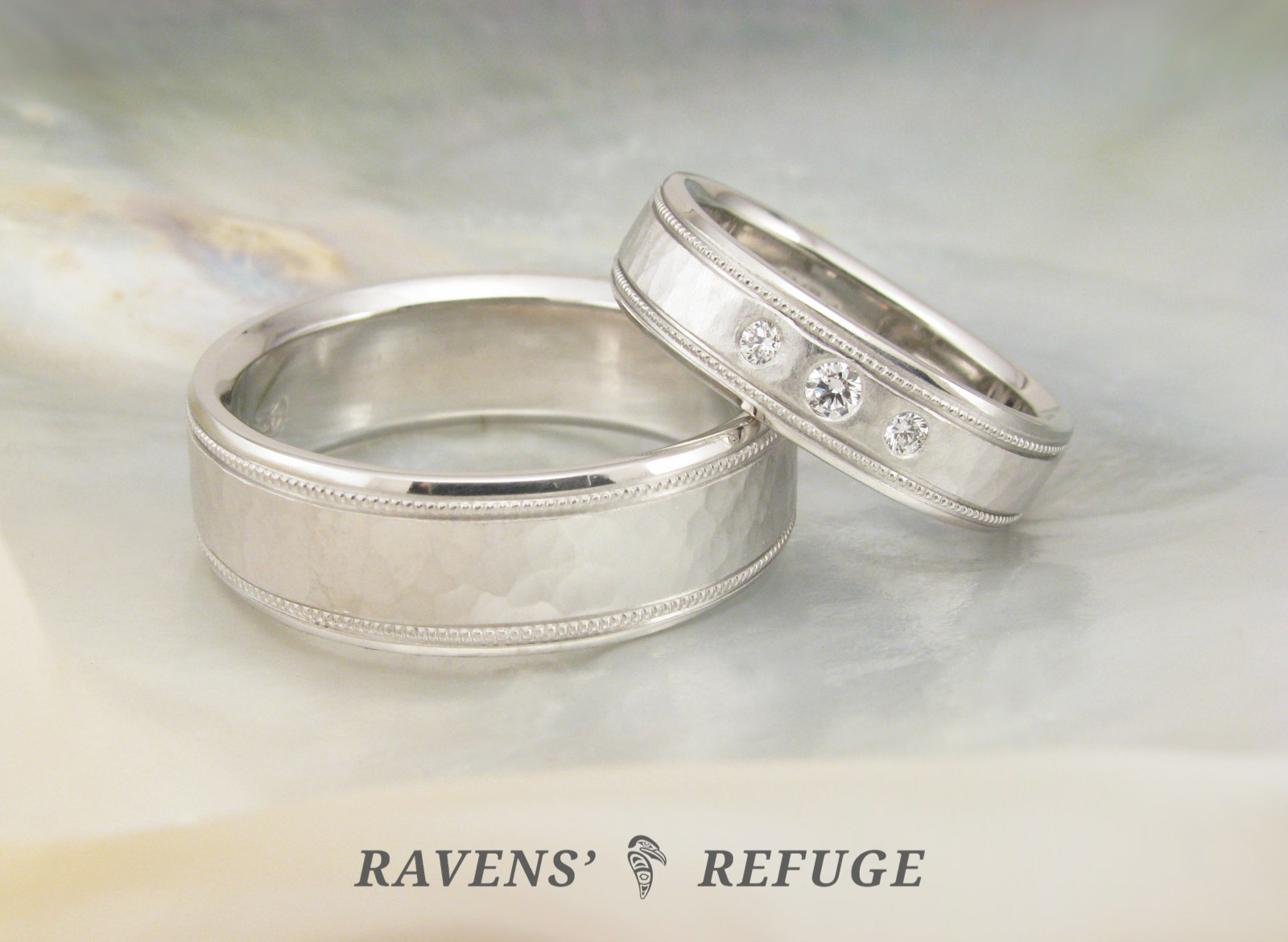 Hers And Hers Wedding Bands