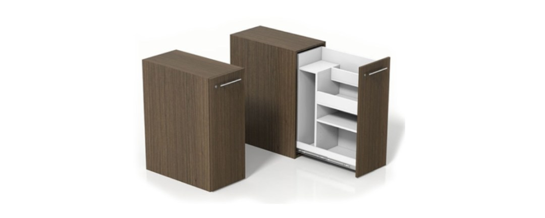 Personal storage towers by BRC