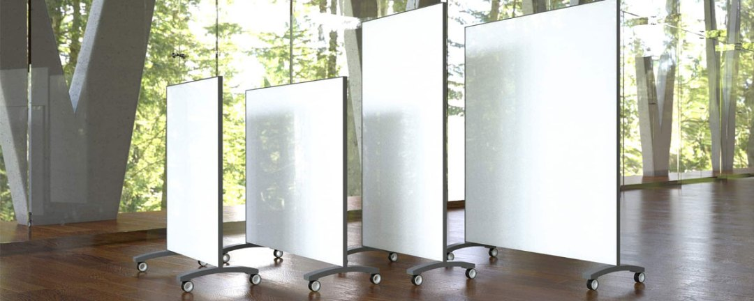 Go! glass whiteboard by Clarus