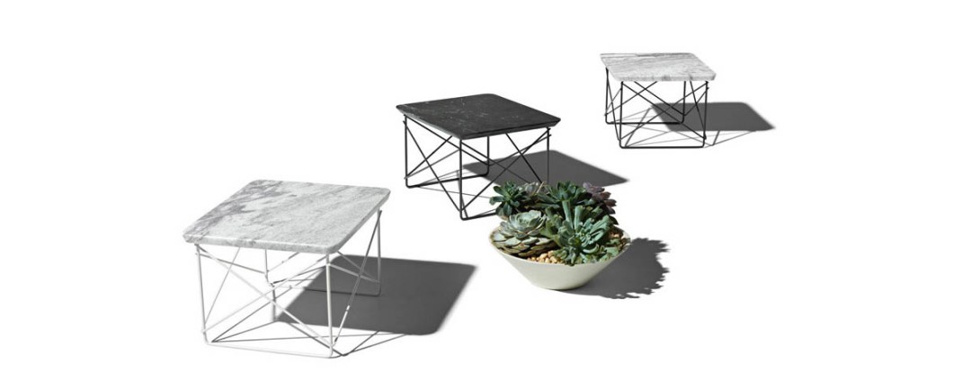 Eames Wire Base Low Table Outdoor