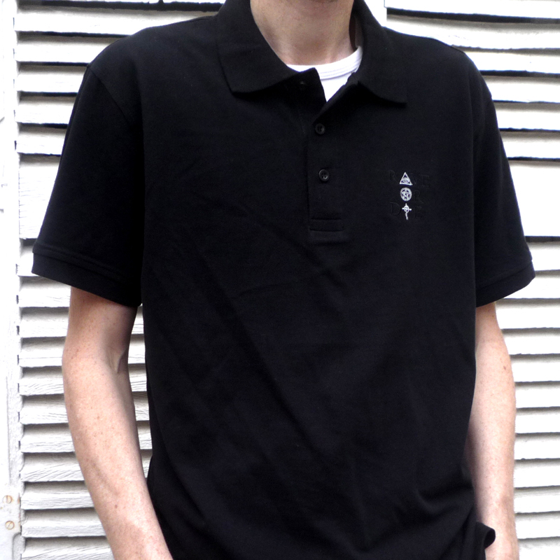 Rave Or Die - Men Polo - color Black