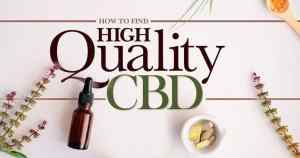 How to Find Good CBD