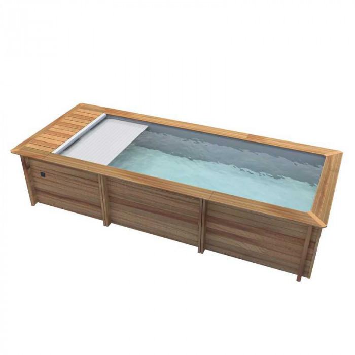 piscine urbaine procopi en bois 6 x 2 5 m
