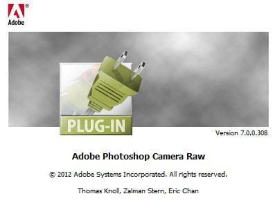 adobe camera raw version