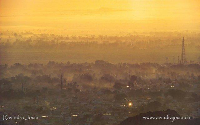 Golden Hours - Early morning at Kolar - Dehaze