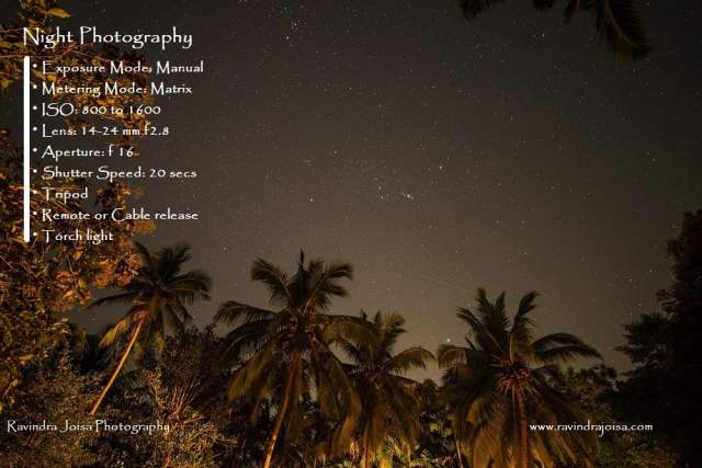 Ravinda Joisa Photography - Night photography