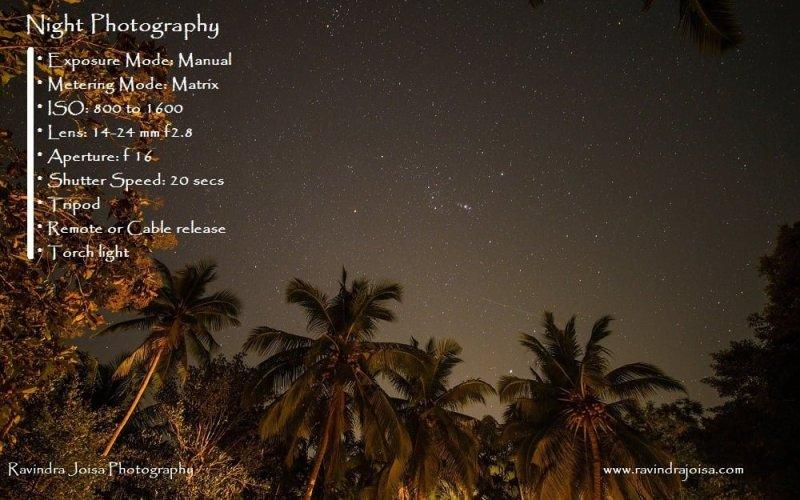 Ravinda Joisa Photography - Night photography