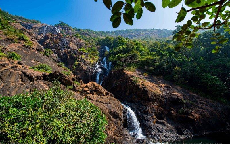 Dudhsagar waterfalls Ravindra Joisa Photography