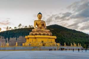 Largest statue of Buddha