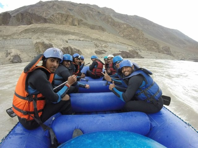 Zanskar River Rafting