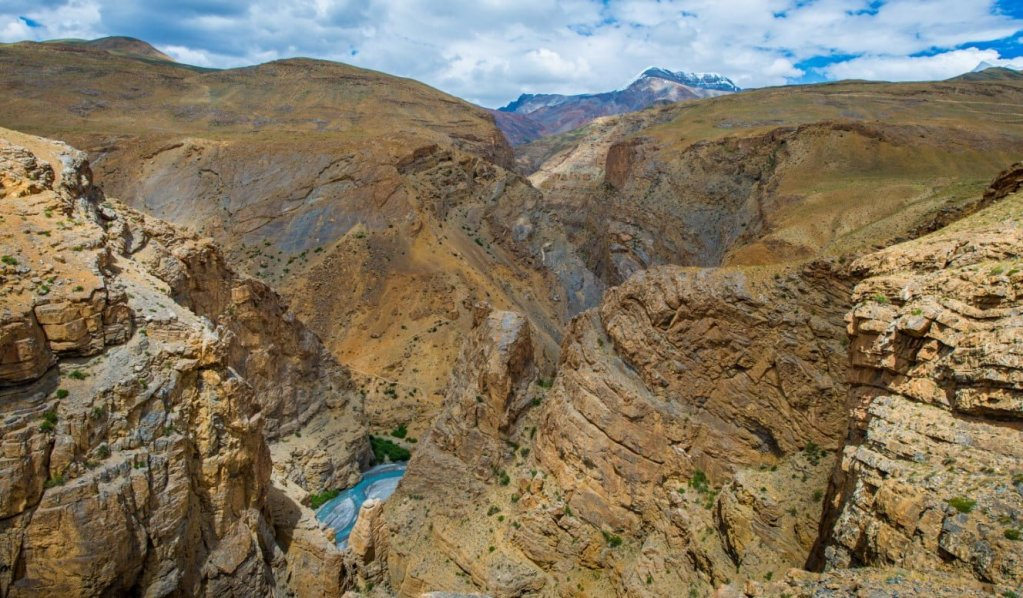 Chicham and Kibber - Parilungbo canyon, Spiti valley
