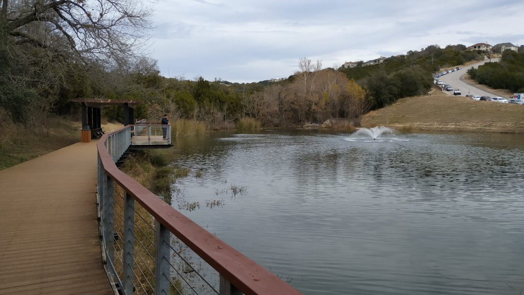 Boardwalk _Canyon Trail - River Place Nature Trail by Ravindra Joisa
