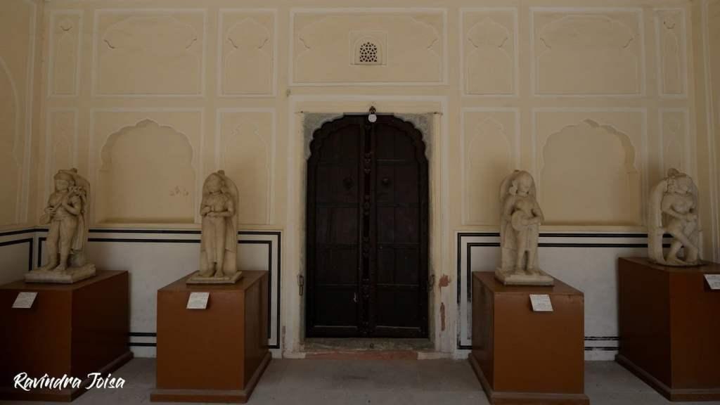 Ancient Artifacts at Hawa Mahal Jaipur