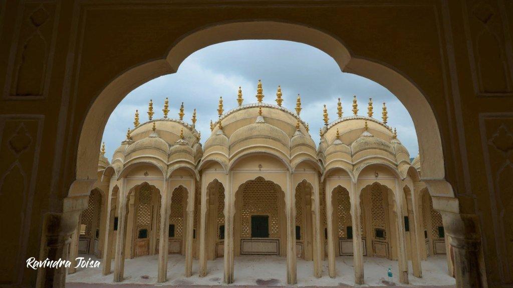 Hawa Mahal Jaipur inside