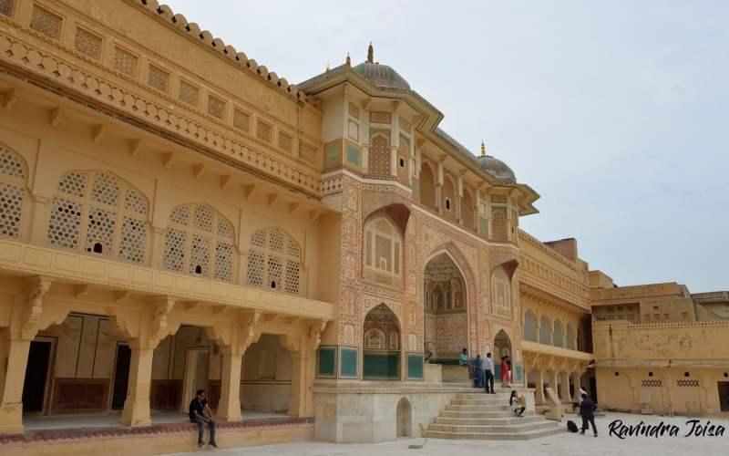 Jaipur Amer fort - Sheesh Mahal Jaipur