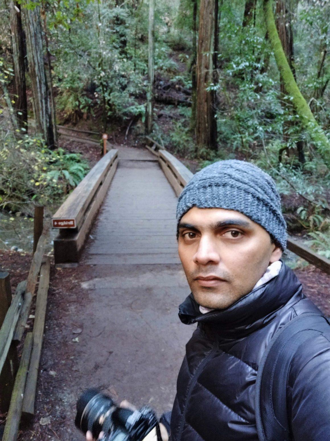 Ravindra Joisa at Muir Woods