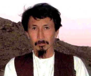 Hakim Shujoyi, brutal warlord backed by the US in Orozgan province. (Photo: Hambastagi.org)
