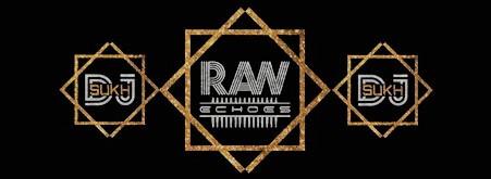 raw echoes logo event dj