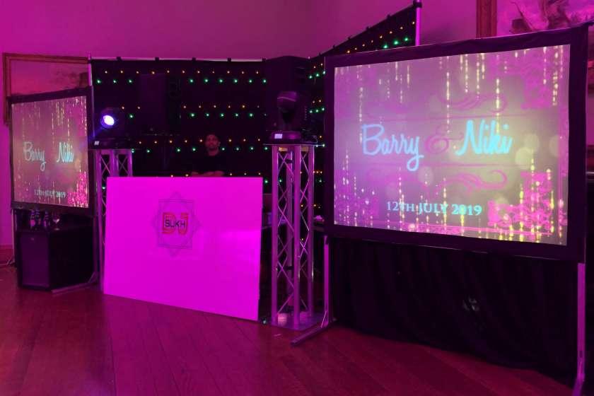 Thornton Hall Asian Wedding DJ