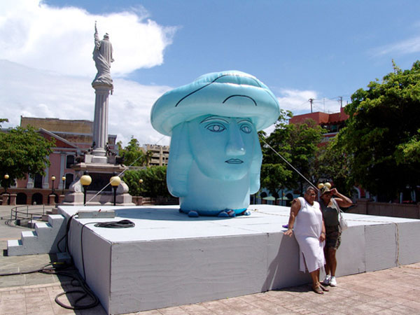 The Inflatable Head of Columbus