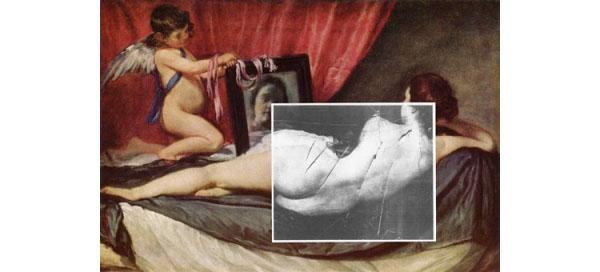 Vandalized Paintings