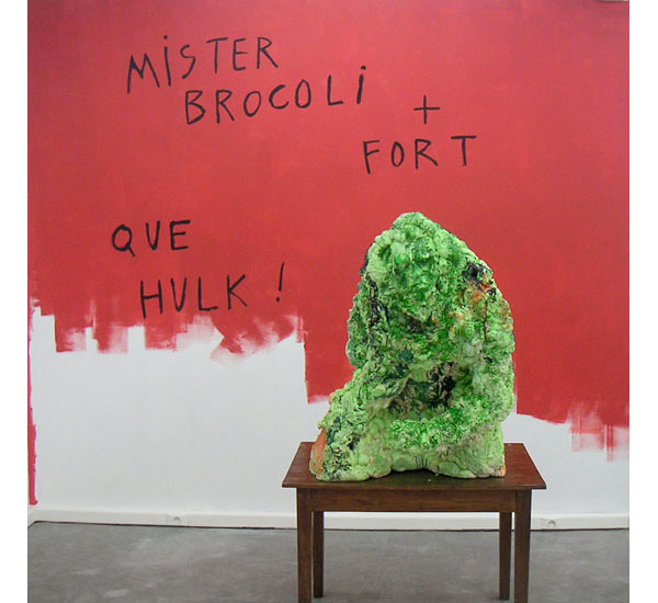 Mister brocoli + fort que hulk