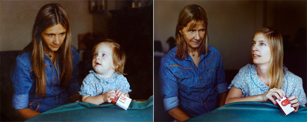 Marita and Coty in 1977 - 2010