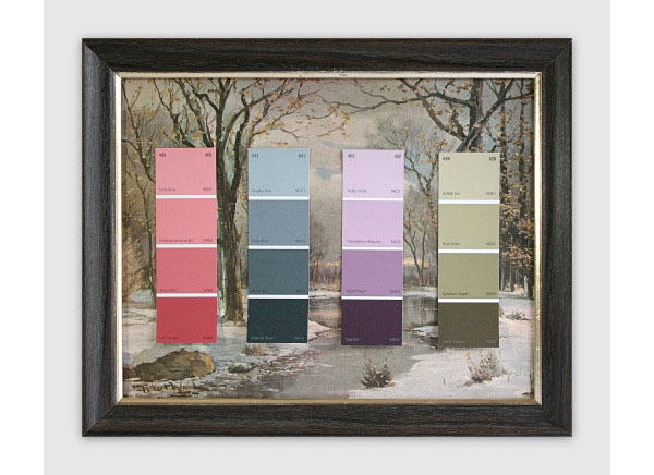 Know Your Color Charts- Winter, Spring, Summer, Autumn