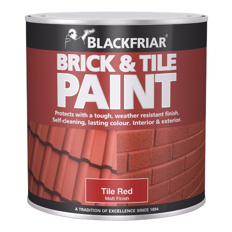 blackfriar brick roof tile paint