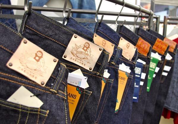 Mixture of Japan Blue Jeans and Momotaro Denim