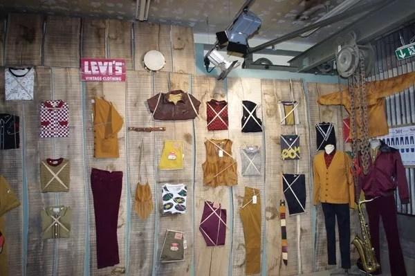Levi's Vintage Clothing Booth