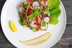 Lemon Tahini Salad