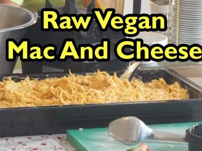 Low-Fat Raw Vegan Mac And Cheese Recipe (gluten, oil and salt free)