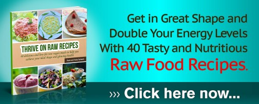 Thrive On Raw Recipes banner_Large
