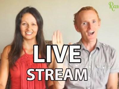 live stream raw food