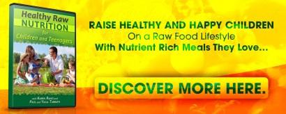 How to raise raw vegan children