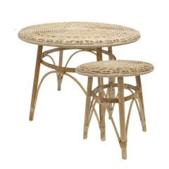 Village Natural Side Table