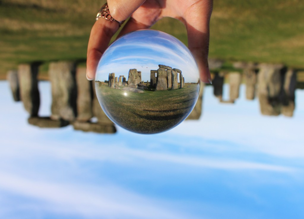 CRYSTAL CLEAR IN STONEHENGE - HER ADVENTURES WITH HIM TRAVEL PHOTOGRAPHY