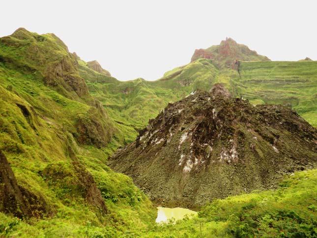 Keindahan tempat wisata gunung Kelud