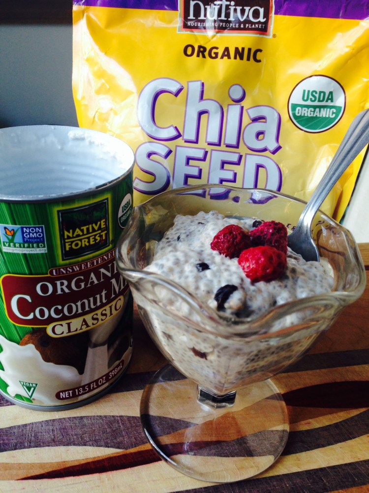 Cinnamon Currant Chia Seed Pudding Ingredients