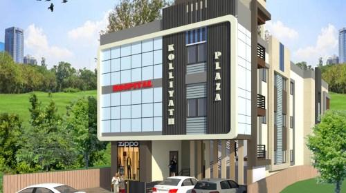 Commercial Complex Design-3D Exterior Design - Perintalmanna Kerala - Mr.Faisal Kolliyath